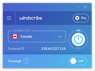 Windows 7 Windscribe VPN 1.56 full
